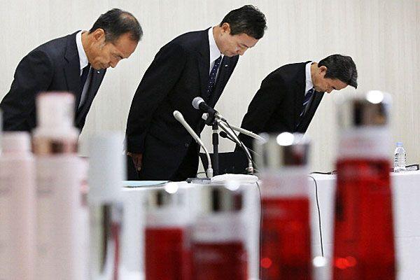 Japanese executives of Kanebo cosmetics