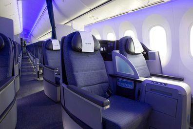 The United Airlines fleet will soon be fitted with new business class cabins, but passengers can still enjoy many of the new Polaris amenities.
