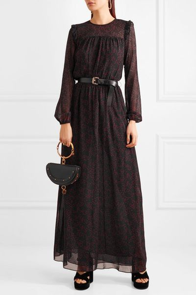 "<a href=""https://www.net-a-porter.com/au/en/product/958321/michael_michael_kors/belted-printed-georgette-and-chiffon-maxi-dress"" target=""_blank"">Michael Michael Kors Belted Printed Georgette and Chiffon Maxi Dress, $326.11</a>"