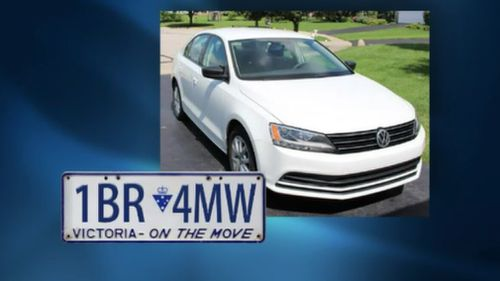 Two stolen Volkswagens were involved in the string of robberies.