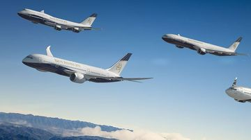 Boeing launched a business jet capable of completing the world's longest flight.