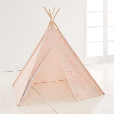 "<a href=""http://www.kmart.com.au/product/tee-pee-play-tent---peach/807547"" target=""_blank"">Kmart Peach Tee Pee, $25.</a>"