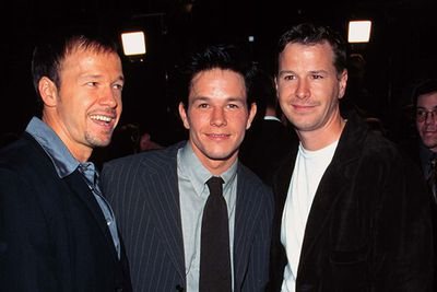 Did Mark Wahlberg, creator of <i>Entourage</i>, take inspiration from his own relationship with his less hot, less successful brother Donnie (pictured here with also-less-hot-brother Robert)? He says not, but the resemblence is striking.<br/>
