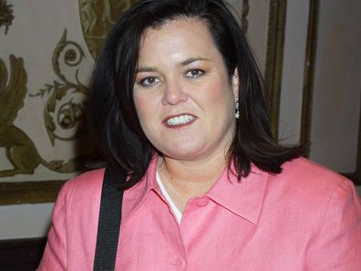 Rosie O'Donnell pictured in 2001.