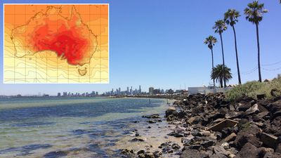 South-eastern Australia swelters as heatwave builds