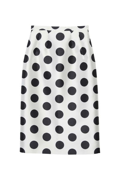 "<p><a href=""http://www.byjohnny.com.au/shop?category=shop+all"" target=""_blank"">By Johnny Circle Stamp Structured Pencil Skirt, $280.</a></p> <p>Yes you can wear a white shirt or blouse - especially if you pair it with a skirt or pant that's got a little edge to it.</p>"