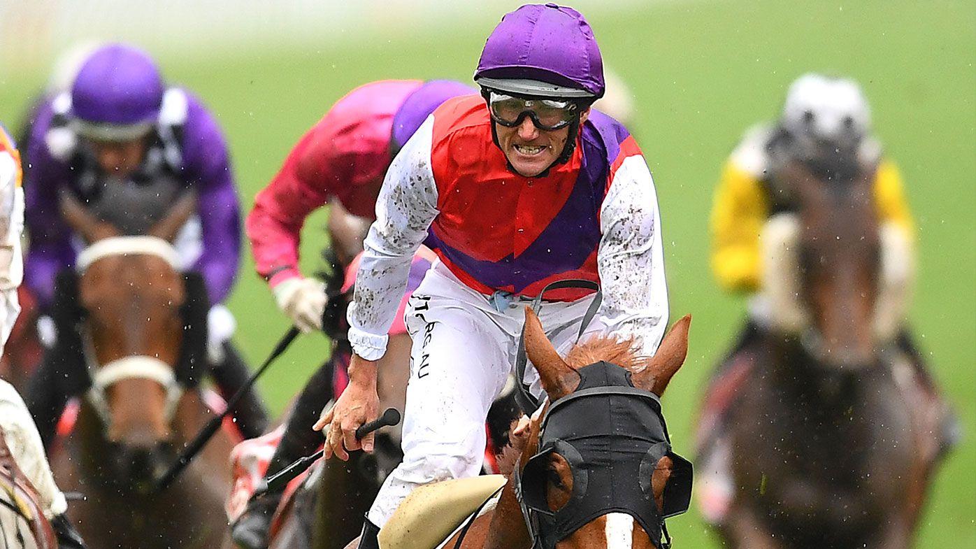 Anthony Freedman and jockey Damien Oliver reunite for Derby glory