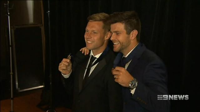 AFL awards Brownlows to Cotchin, Mitchell