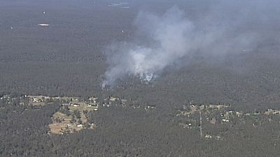 Bushfire sends plumes of thick smoke over Sydney's south-west