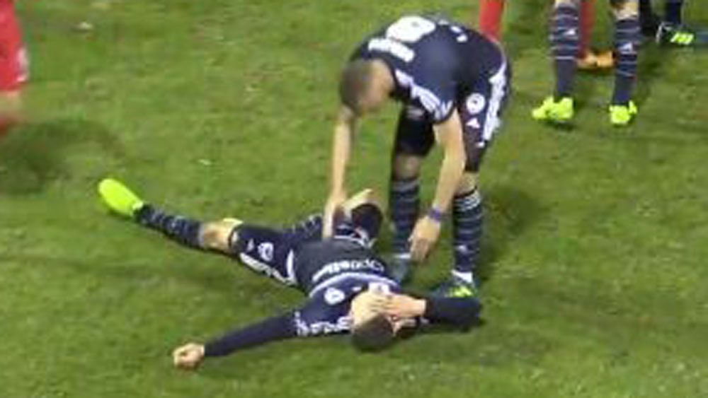 FFA Cup players Taylor Regan and Chris Payne lucky to escape sanction for foul play