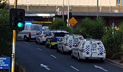 A major police operation is underway after reports of a shooting inside a Melbourne shopping centre. (9NEWS)