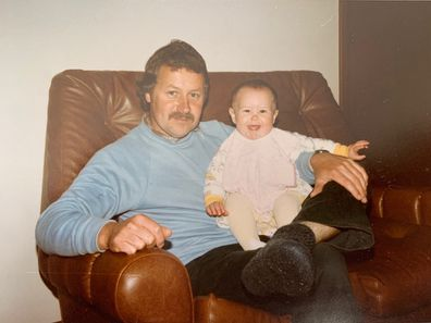 Danielle Conlan with her father Chris