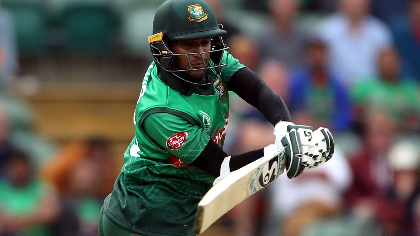 Shakib Al Hasan century helps Bangladesh sink West Indies in historic run chase