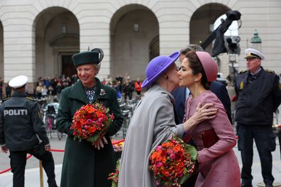 Princess Mary attends opening of Danish Parliament in Jackie O inspired outfit