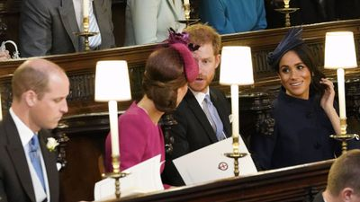Kate and Meghan's friendship: Princess Eugenie's wedding, October 2018