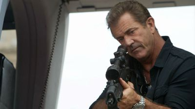 Mel Gibson's tour of duty in The Expendables 3 was enough to net him a Worst Supporting Actor Razzie. (Supplied)