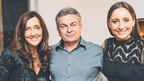 Borce Ristevski, centre, is charged of the alleged murder of his wife, Karen, left, in June 2016. Picture: Supplied