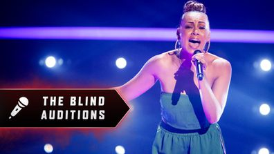 Blind Audition: Prinnie Stevens 'When Loves Takes Over'