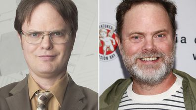 The cast of The Office, then and now.