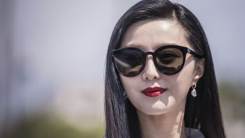 Fan Bingbing during a photo call for the film '355' at the 71st international film festival in Cannes, southern France.