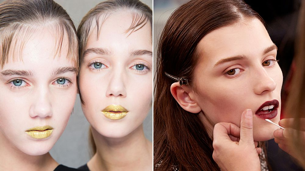 Ready-to-wear spring/summer 2016 beauty trend report