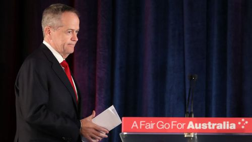 Bill Shorten has conceded defeat.