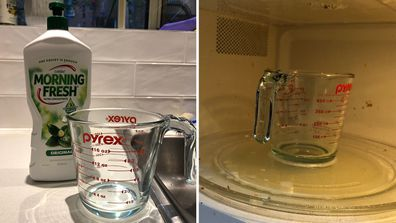 'I tried a viral cleaning hack and it almost blew up my microwave'