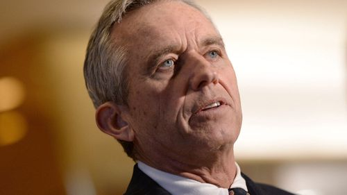 Robert F Kennedy Jr does not believe the man convicted of his father's murder is responsible. (AAP)