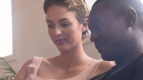 Her family and partner Tawanda have been by her side every step of the way. (9NEWS)