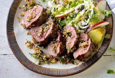 "Recipe:&nbsp;<a href=""http://kitchen.nine.com.au/2016/05/20/10/17/koreanstyle-lamb-rump"" target=""_top"">Korean-style lamb rump<br /> </a>"