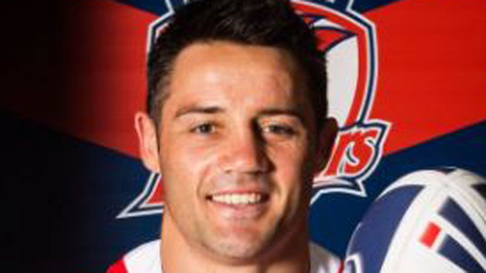 Former Melbourne Storm halfback Cooper Cronk unveiled in Sydney Roosters jersey