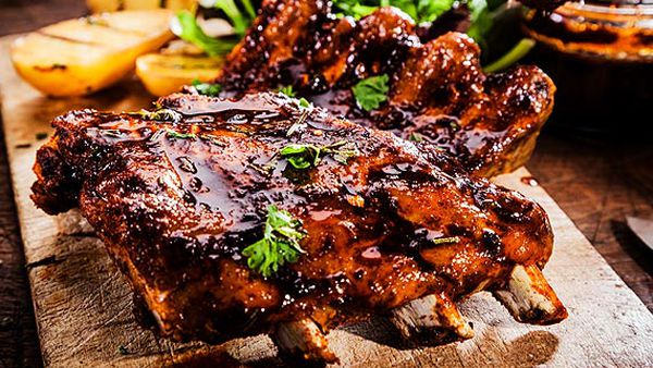 Ben Farley's sticky Asian lamb riblets