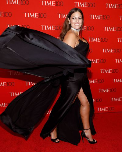 Ashley Graham at the Time 100 Gala in New York City