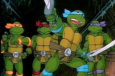 2. Teenage Mutant Ninja Turtles