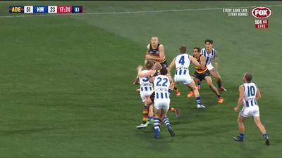 AFL: Adelaide Crows extinguish North Melbourne's finals hopes