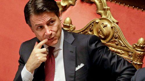 Italian Prime Minister Giuseppe Conte resigns amid political row