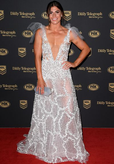 Jessica Sergis at the 2019 Dally M Medal