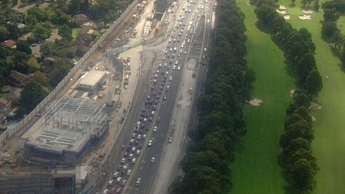 Motorists also experienced major Easter traffic delays in Sydney in 2018.
