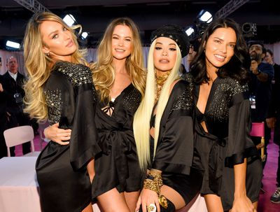 aefcf572081 All the backstage action from the Victoria s Secret 2018 show