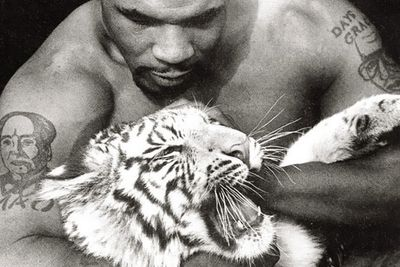 Boxer Mike Tyson owned a tiger for a while before handing it over to authorities when it became too much even for him to handle.