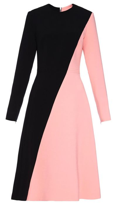 "<p><a href=""http://www.matchesfashion.com/au/products/Roksanda-Orrin-bi-colour-cady-dress--1020929"" target=""_blank"">Dress, $1792, Roksanda at matchesfashion.com</a></p>"