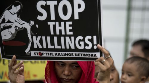 State-sanctioned killings of suspected drug dealers have sparked protests in the Philippines.