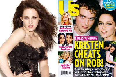 It might have been an attempt at bad-girl cred when K-Stew was snapped in the arms of her <i>Snow White and Huntsman</i> director <b>Rupert Sanders</b>, but it backfired, making her America's most hated cheater.