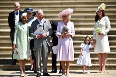 The mum-of-three also sported the dress at Prince Harry and Meghan Markle's wedding in 2018.