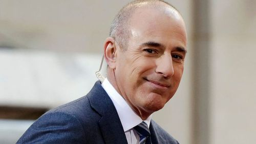 Matt Lauer has broken his silence 24-hours after he was fired. (AAP)