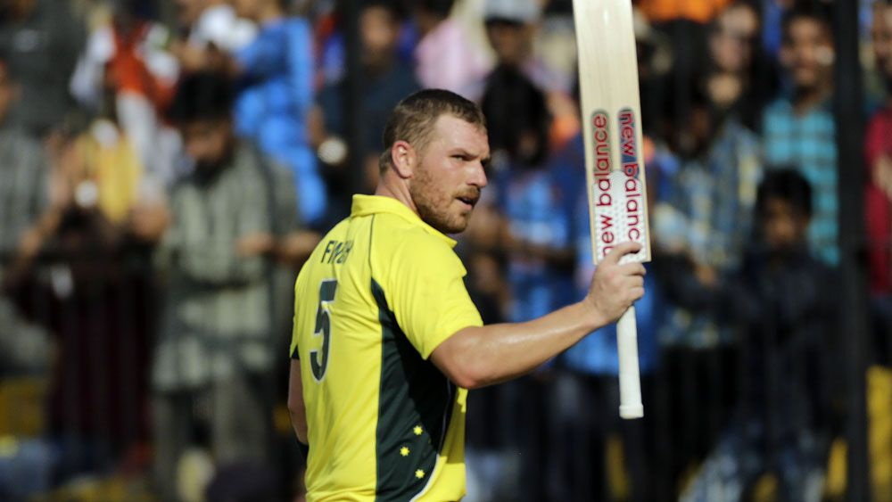 Cricket news: Australia's Aaron Finch shines with century in ODI return against India