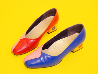 Give old shoes a new lease on life with this simple makeover.
