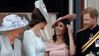 Kate and Meghan's friendship: Trooping the Colour, June 2018