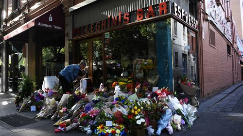 Melbourne's Pellegrini's Espresso Bar will re-open today in honour of its co-owner Sisto Malaspina, who was tragically killed in the Bourke Street terror attack.