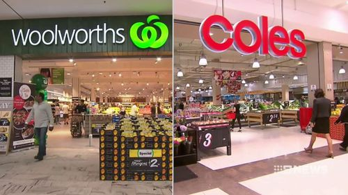 The two major supermarkets said shoppers should expect supply to improve in coming weeks.
